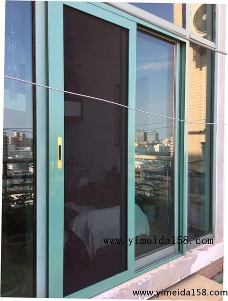 推拉窗怎样安装金刚网